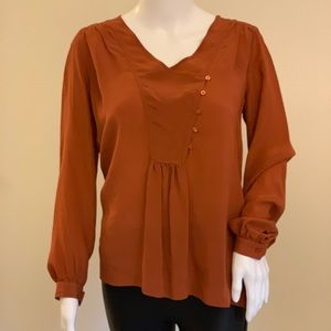Anthropologie lil blouse